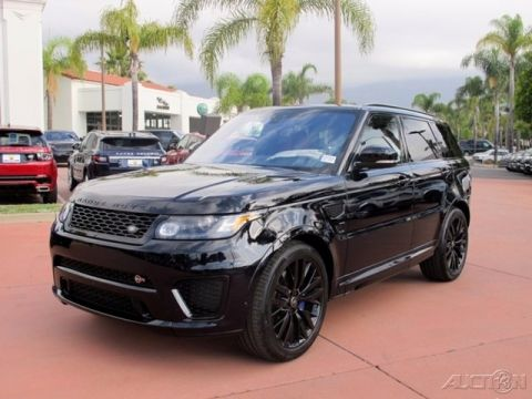 New 2017 Land Rover Range Rover Sport SVR With Navigation & 4WD