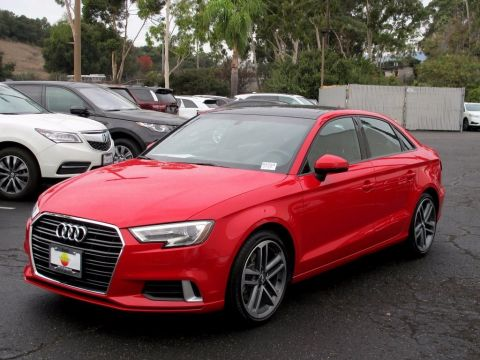 Pre-Owned 2017 Audi A3 Sedan Premium FWD 4dr Car