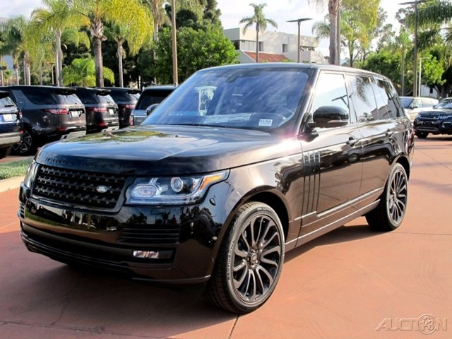 New 2017 Land Rover Range Rover HSE