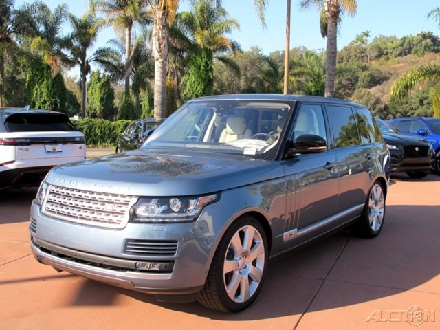 New 2017 Land Rover Range Rover